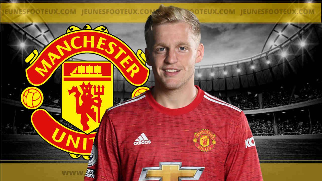 Manchester United : il faut sauver le soldat Van de Beek !