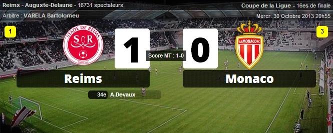 CDL : Reims a créé la sensation en éliminant Monaco