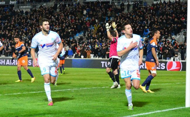 Ligue 1: Marseille sourit,Montpellier pleure