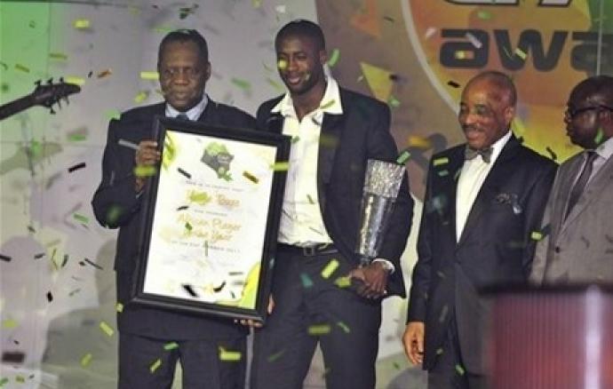 Yaya Touré élu joueur africain de l'année