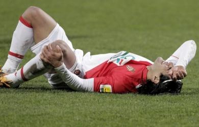 AS Monaco : lésion du ligament croisé antérieur du genou gauche pour Falcao