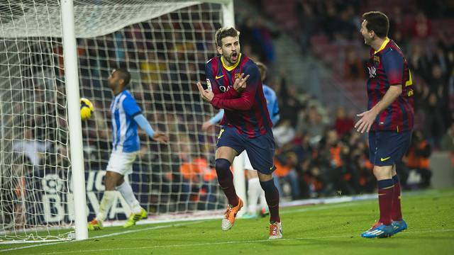 Liga : Le Barça s'impose sans problème face à Malaga (3-0)