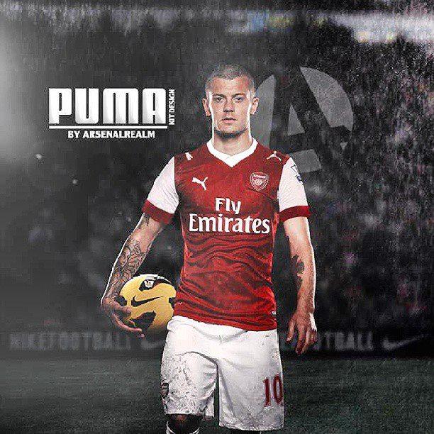 Puma nouvel équipementier d'Arsenal !