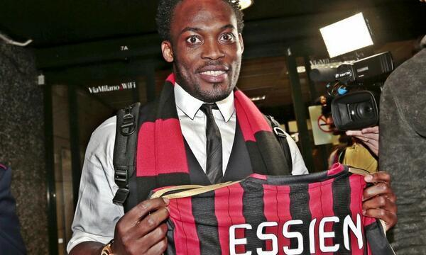 OFFICIEL : Michael Essien s'engage avec le Milan AC