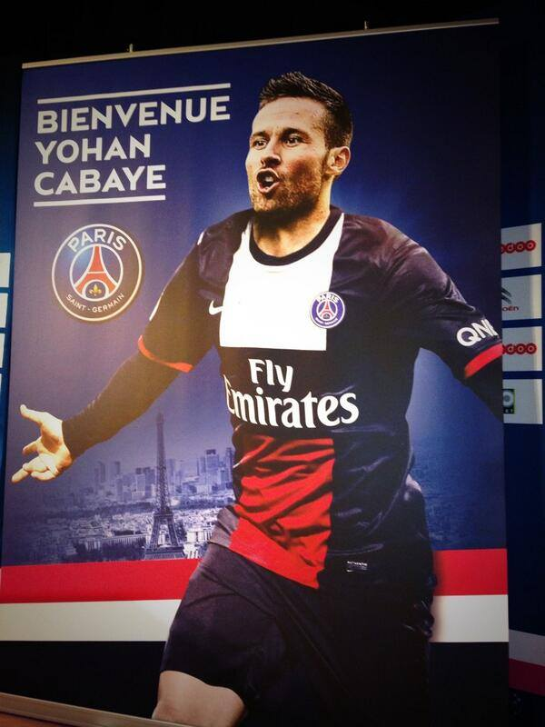 Photo : Le PSG souhaite la bienvenue à Yohan Cabaye