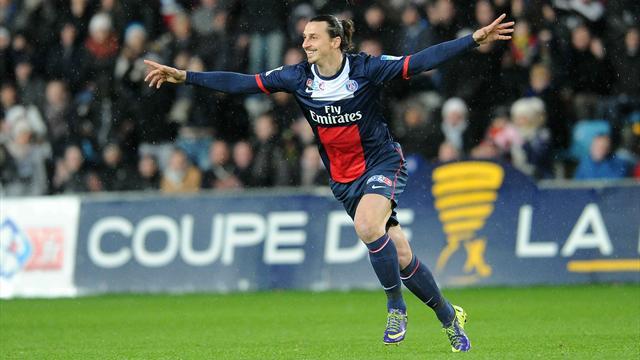 Zlatan Ibrahimovic délivre le Paris Saint-Germain qui file vers le Stade de France !