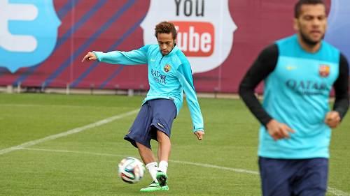 Barça : Neymar devrait être apte pour la Ligue des Champions