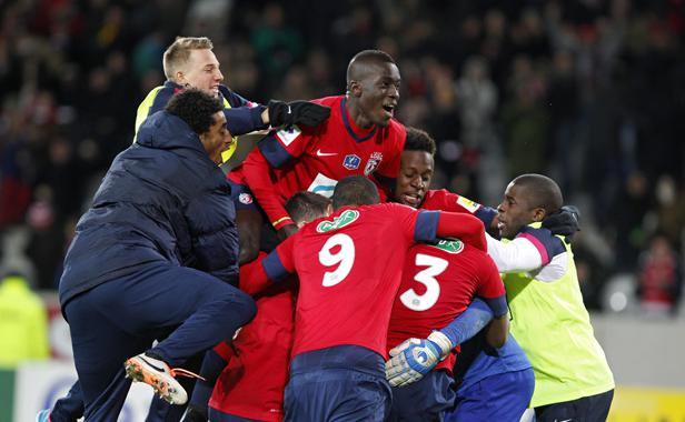 Coupe de France : Le LOSC aura eu chaud !