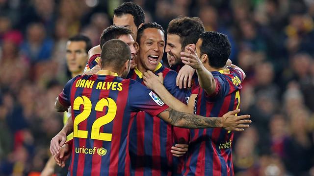 Liga : Le Barça pulvérise le Rayo Vallecano !