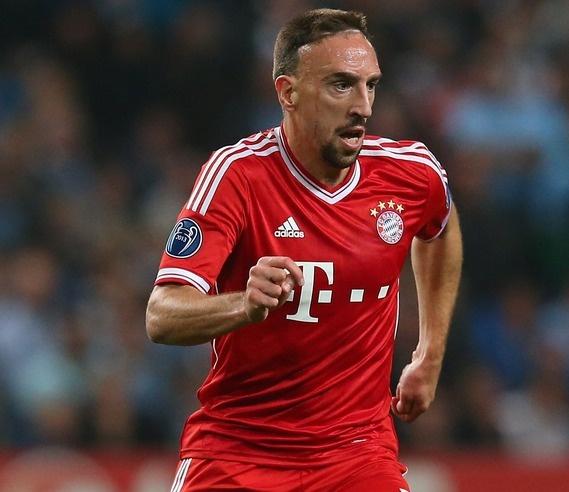 Munich : reprise de l'entrainement pour Franck Ribéry