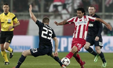 L'Olympiakos domine Manchester United (2-0) !