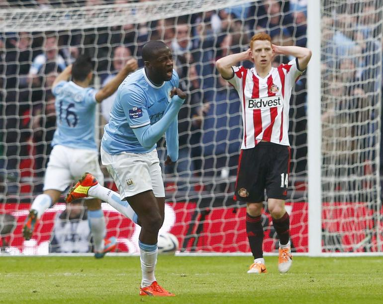 Manchester City bat Sunderland en finale de la League Cup (3-1)