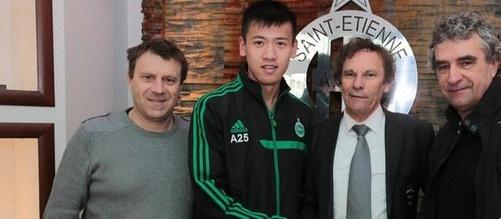 ASSE:  Xiang Baixu rejoint Saint-Etienne !