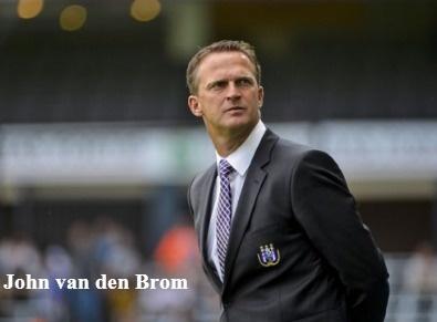 Anderlecht a limogé son entraineur John van den Brom
