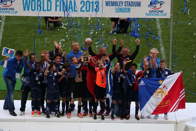 Coup d'envoi de la Danone Nations Cup 2014 !