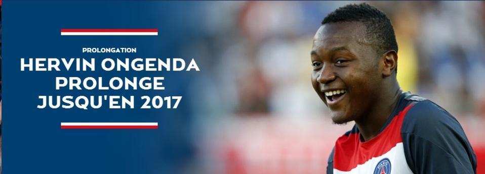 PSG : Hervin Ongenda a prolongé son contrat