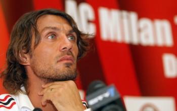 Paolo Maldini balance un gros tacle au Milan AC !
