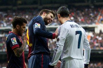 Clasico : Pour Piqué, Ronaldo est une pleureuse !