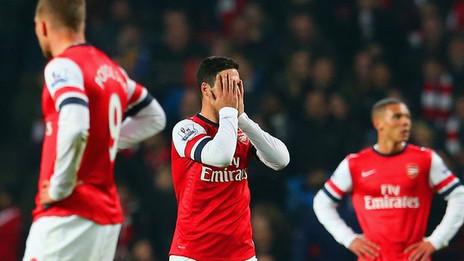 Premier League: Arsenal à l'arrêt !