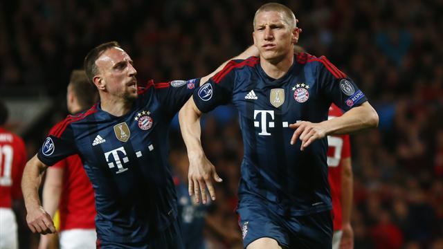 LdC : Au jeu de l'attaque défense Man United et le Bayern se séparent sur un nul (1-1)