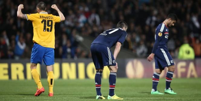 Lyon craque en fin de match face à la Juventus (0-1)