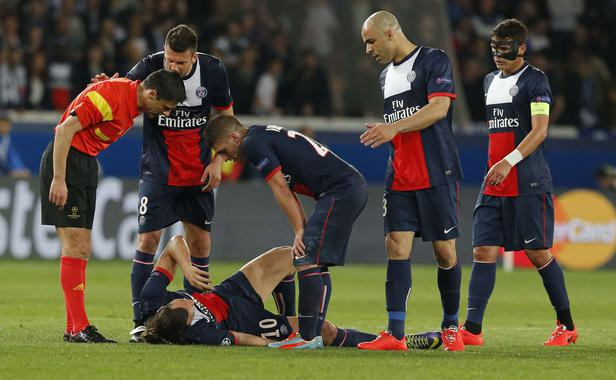 PSG : lésion musculaire pour Ibrahimovic
