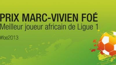 """Ligue 1 : les 10 nommés pour le titre """"Marc-Vivien Foé"""""""
