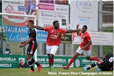 Le Stade de Reims en finale de la Coupe Gambardella