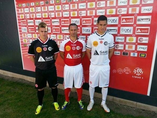 Nouveaux maillots de Reims pour la saison 2014-2015 présentés officiellement