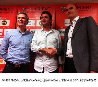 Sylvain Ripoll est le nouvel entraîneur de Lorient