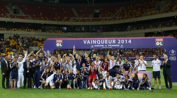 Coupe de France féminine : Le Lyonnaise domine le PSG !