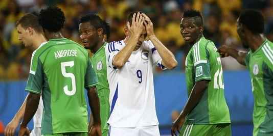 Le Nigeria s'est imposé 1-0 grâce à un but d'Odemwingie. | REUTERS/MICHAEL DALDER