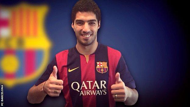 Officiel : Luis Suarez va s'engager avec le FC Barcelone !
