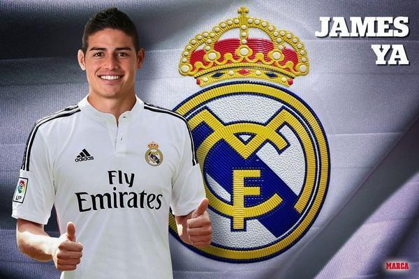 OFFICIEL : James Rodriguez au Real Madrid !