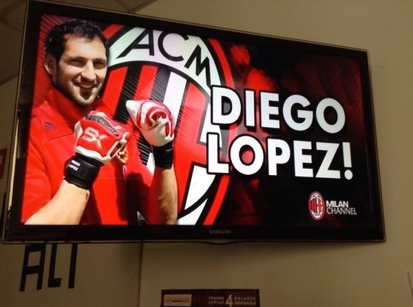 Diego Lopez, direction Milan !