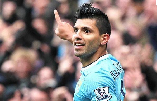 Sergio Aguero a prolongé son contrat jusqu'en 2019 à Manchester City