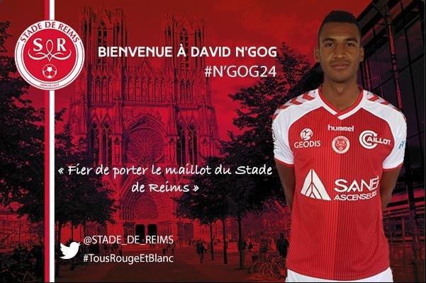 Reims : David N'Gog s'est engagé au Stade de Reims (officiel)