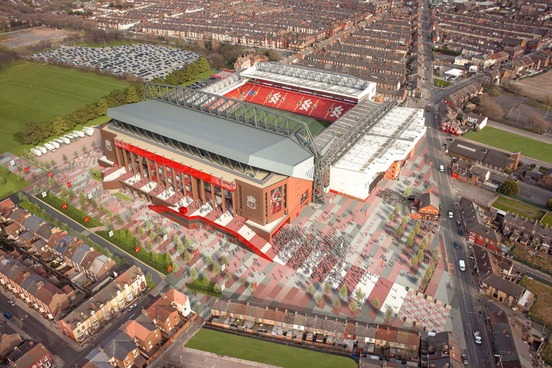 Liverpool : Le projet d'agrandissement d'Anfield a été accepté !