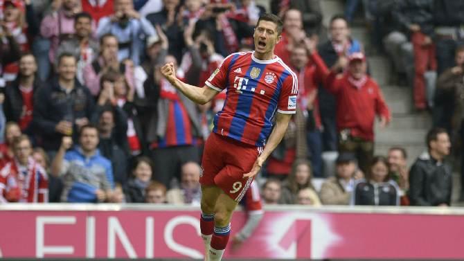 Le Bayern Munich en grand patron, Dortmund aux portes de la zone de relégation