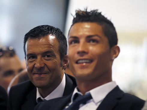 Jorge Mendes affirme avec certitude que Ronaldo ne quittera pas le Real Madrid !