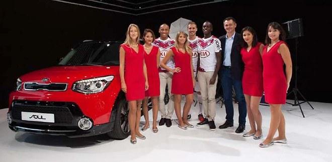 Petite balade des Girondins de Bordeaux au Mondial de l'Automobile !