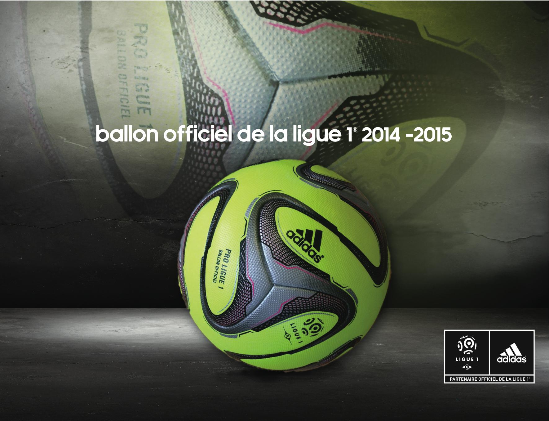 Adidas et la LFP présentent le nouveau ballon officiel de la saison 2014-2015 de Ligue 1