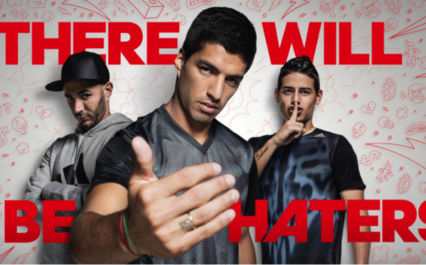 Adidas dévoile sa nouvelle campagne #ThereWillBeHaters