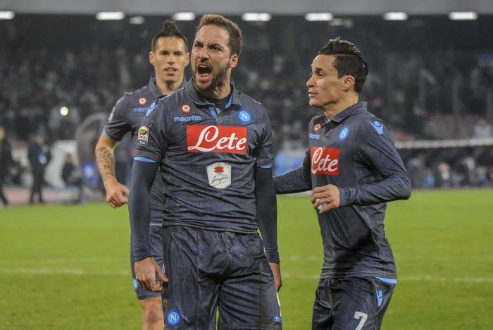 Serie A : Sourire pour Naples, l'Inter grimace