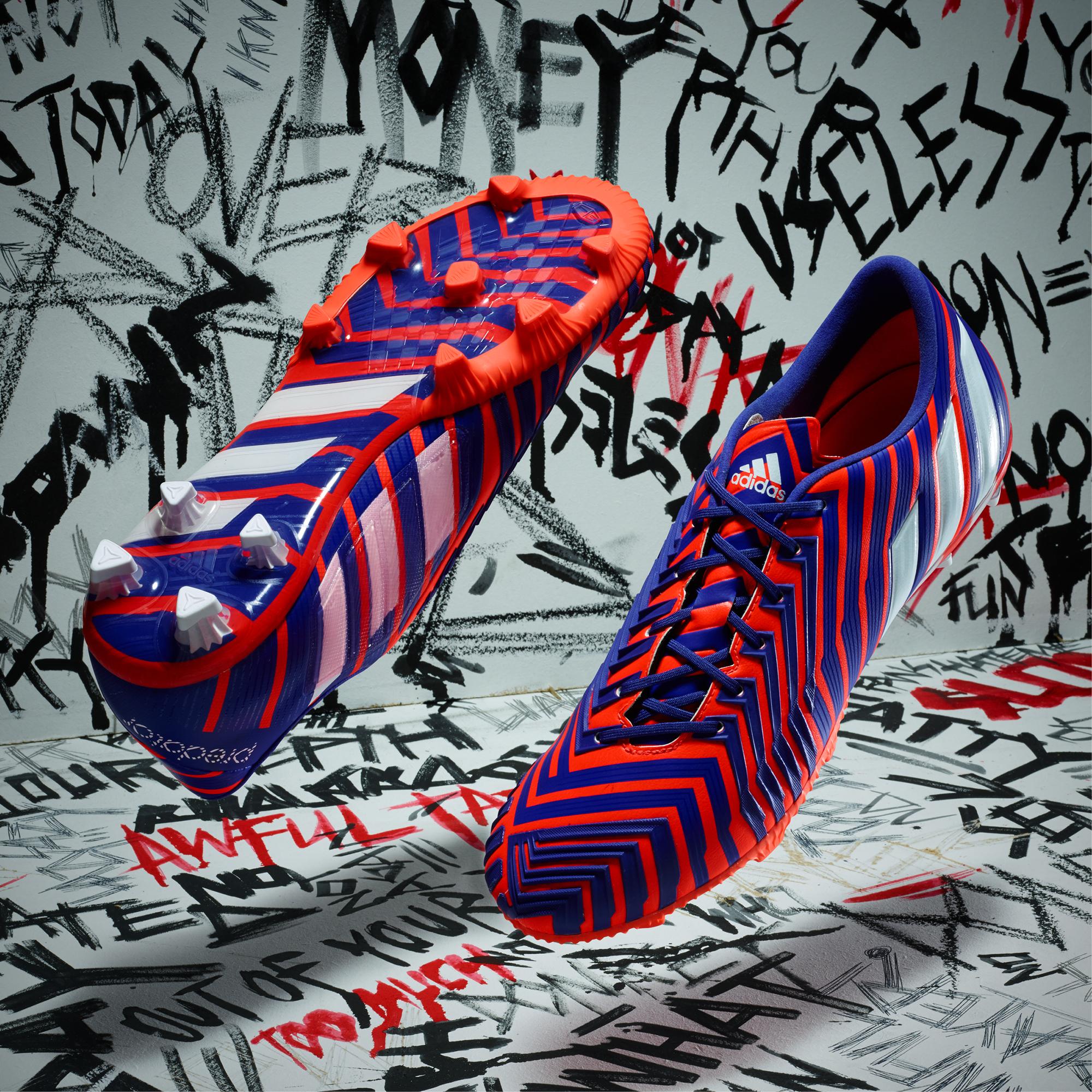 Adidas dévoile sa nouvelle gamme de chaussures de football