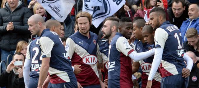 Bordeaux s'impose contre Saint-Etienne
