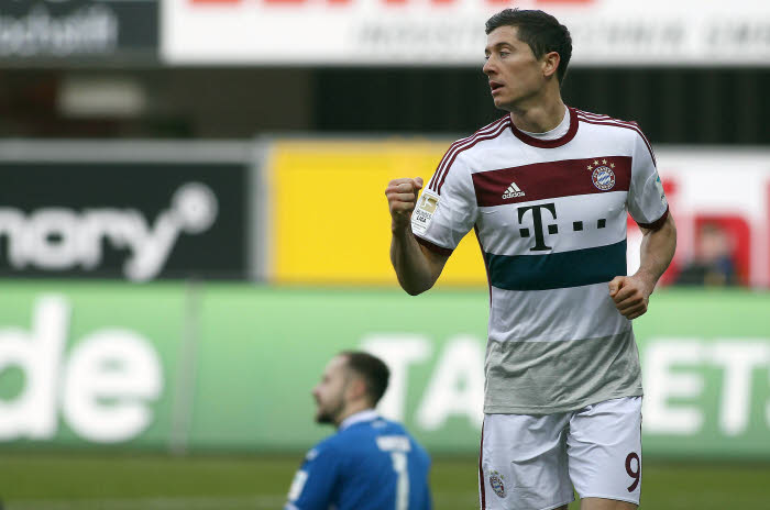 La vie est belle pour Lewandowski et le Bayern, auteurs de 14 réalisations en deux journées !