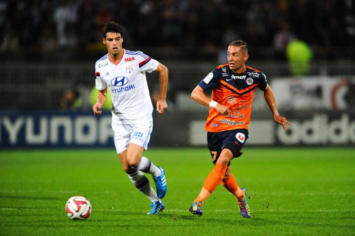 Yoan Gourcuff et Anthony Mounier devrait se livre un beau duel dans un Montpellier-Lyon déjà décisif.