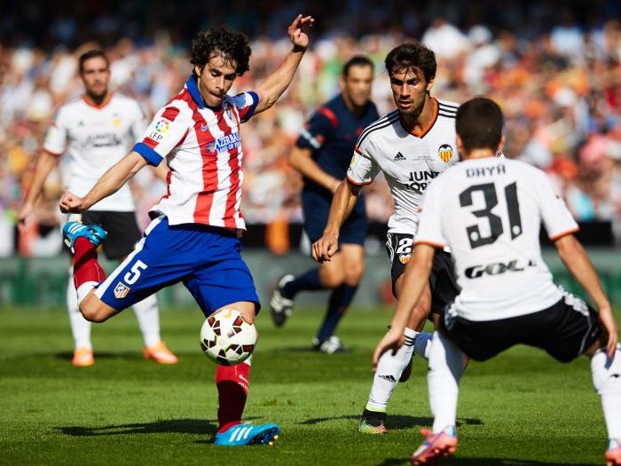 Lors du premier acte, l'Atletico de Tiago n'avait pu résister à l'engagement d'un FC Valence en plein renouveau.