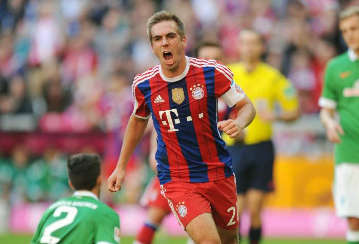 Le Werder à terre et un Philippe Lahm triomphant. Un scénario qui pourrait se répéter. Le Bayer vole en ce moment.